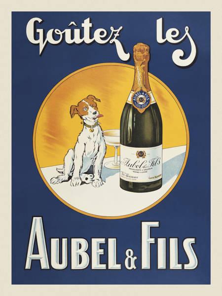 Aubel And Fils Art Print by Vintage Images