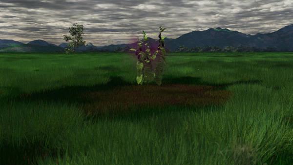 Cultivation Digital Art - Aubergine by Mark Bowden
