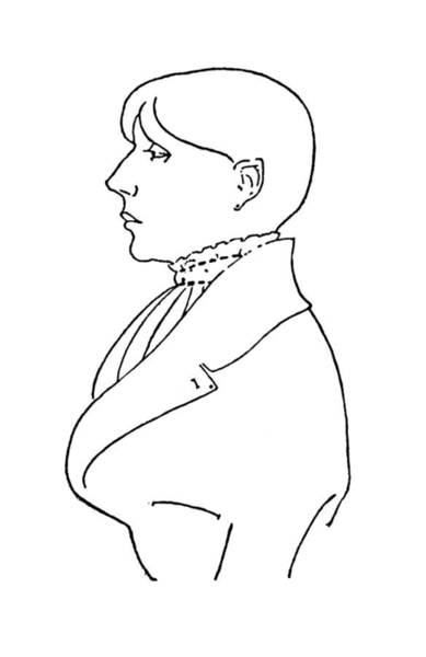 Drawing - Aubrey Vincent Beardsley (1872-1898) by Granger