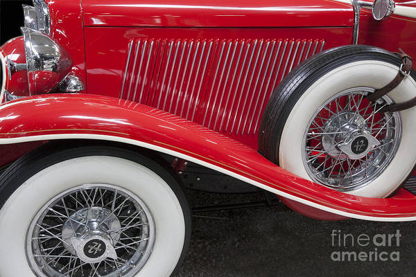 Photograph - Auburn 12-161 Coupe by Heiko Koehrer-Wagner