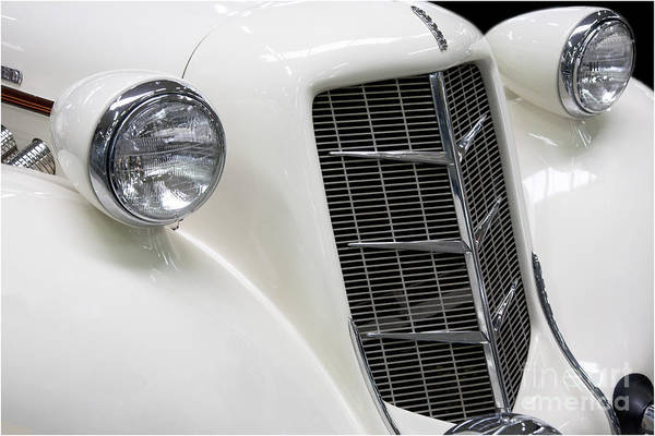 Photograph - Auburn 851/852 Speedster Front by Heiko Koehrer-Wagner