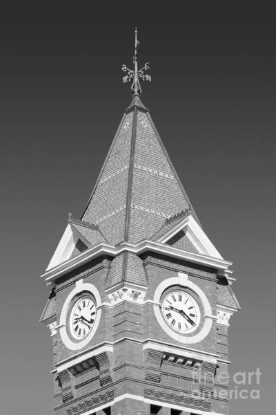 Photograph - Auburn University Samford Hall Clock Tower by University Icons