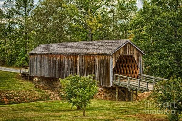 Photograph - Auchumpkee Creek Bridge by Heather Roper