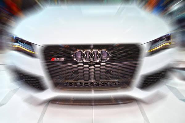 Photograph - Audi R S 7 Quattro Speedup by Dragan Kudjerski