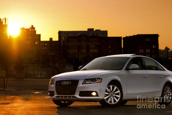 Photograph - Audi by Ryan Heffron