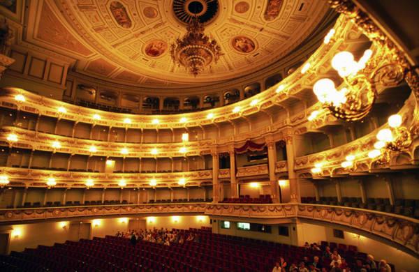 Auditorium Photograph - Auditorium Of Semperopera by Martin Moos