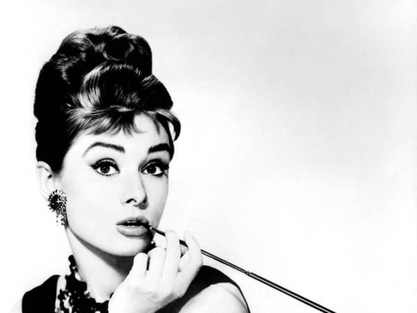 Celeb Wall Art - Photograph - Audrey Hepburn by Csongor Licskai