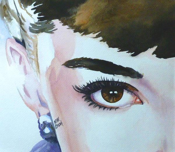 Painting - Audrey by Michal Madison