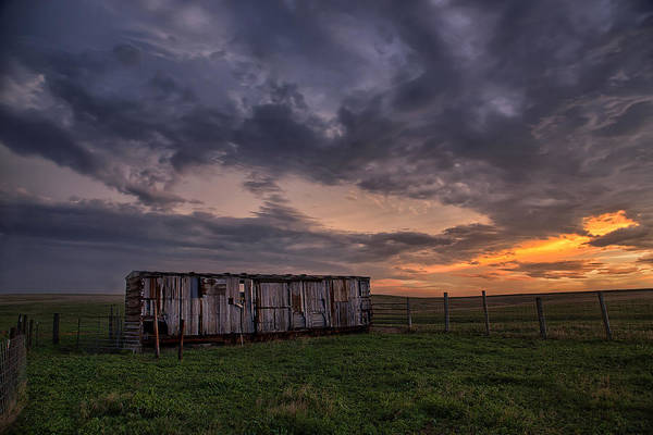 North Dakota Photograph - August Boxcar by Thomas Zimmerman