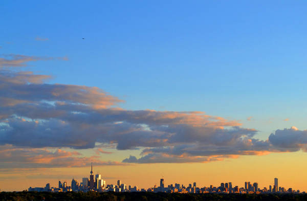 August Early Evening Toronto 4  Art Print by Lyle Crump