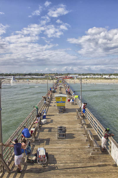 Photograph - August On The Pier by Ben Shields
