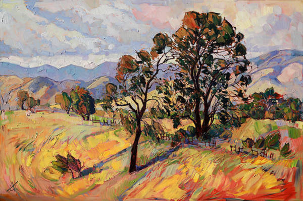 Wall Art - Painting - August Paso by Erin Hanson