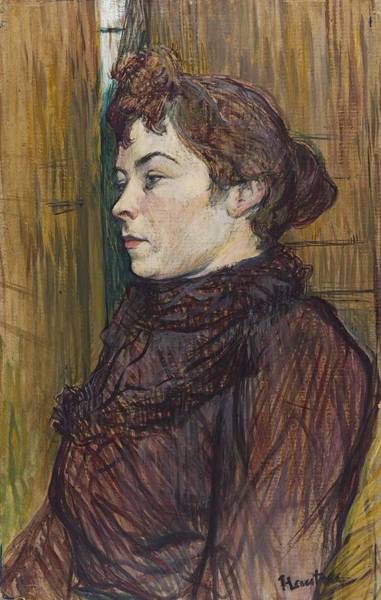 Augusta Masters Painting - Augusta by Toulouse-Lautrec