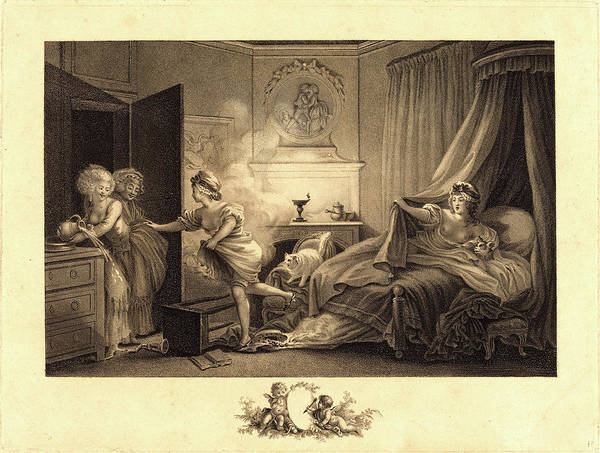 Stipple Drawing - Auguste-claude-simon Legrand After Jean-honoré Fragonard by Litz Collection
