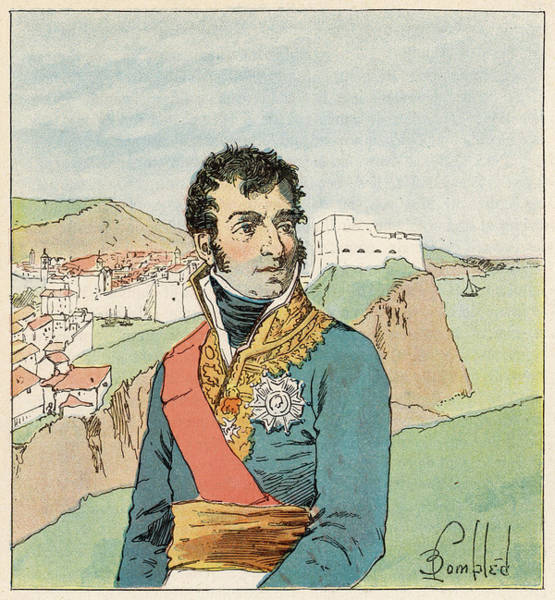 Gold Medal Drawing - Auguste-frederic-louis Viesse De by Mary Evans Picture Library