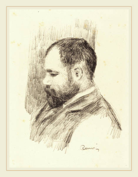 Wall Art - Drawing - Auguste Renoir, Ambroise Vollard, French by Litz Collection