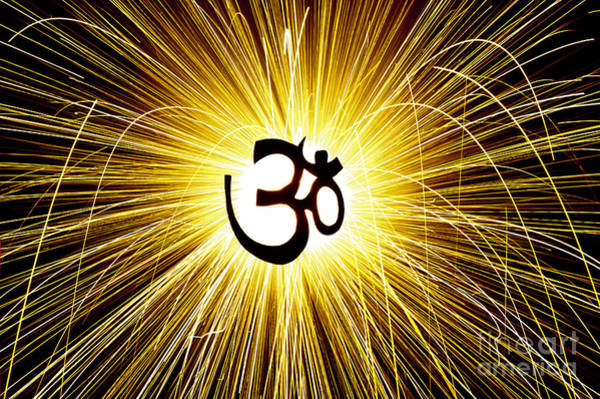 Om Wall Art - Photograph - Aum Light by Tim Gainey