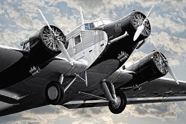 Ju 52 Wall Art - Photograph - Auntie Ju 52 by Joachim G Pinkawa