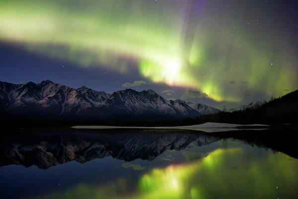 Alaska Photograph - Aurora Borealis by Alaska Photography