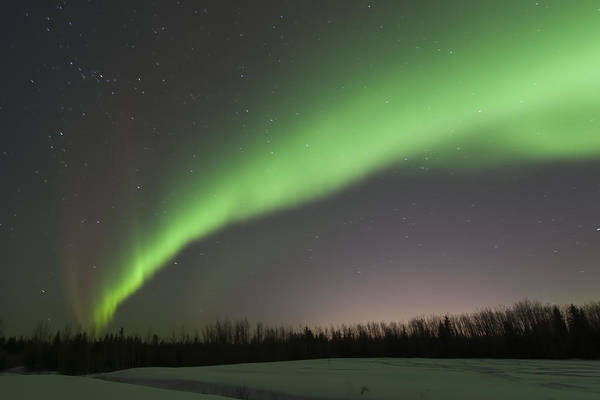 Aurore Photograph - Aurora Borealis II by Jean-Pierre Ducondi