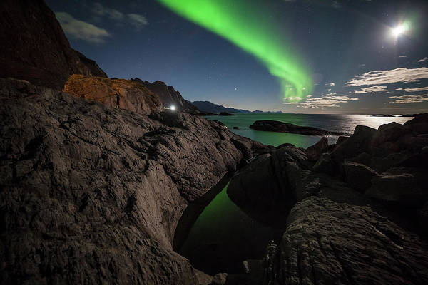 Wall Art - Photograph - Aurora In The Witchpot by Tommy Johansen. Freelance Photographer In Lofoten Norway.