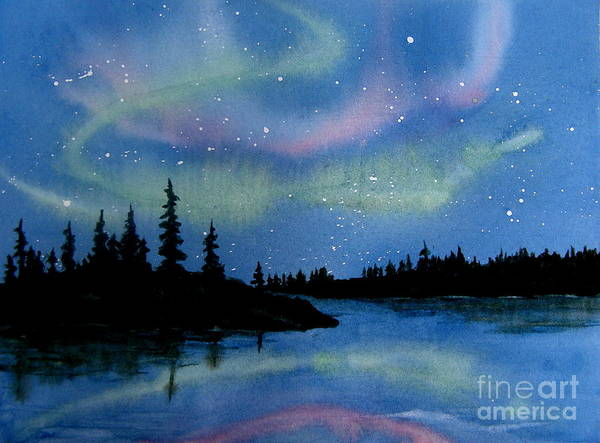 Painting - Aurora by Lynn Quinn