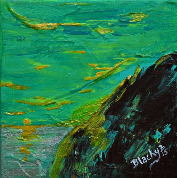 Wall Art - Painting - Aurora Sky by Donna Blackhall