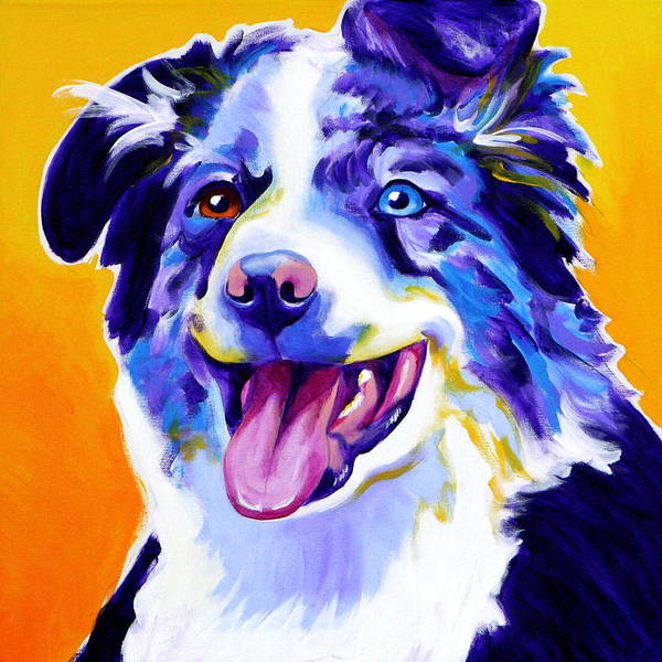 Wall Art - Painting - Aussie - Happiness by Alicia VanNoy Call