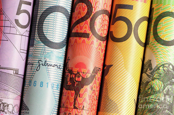 Photograph - Aussie Dollars 02 by Rick Piper Photography