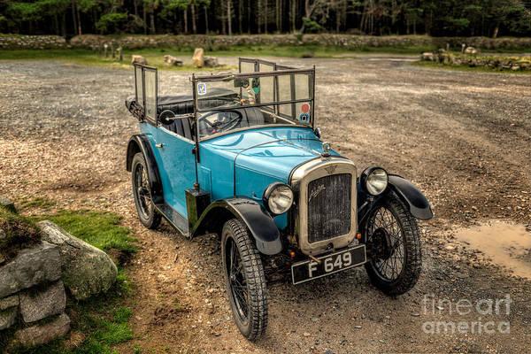 Crank Photograph - Austin 7 V2 by Adrian Evans