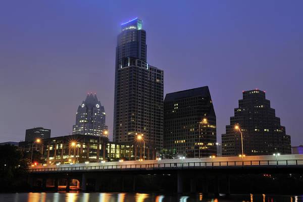 Downtown Austin Photograph - Austin At Dawn by Aimintang