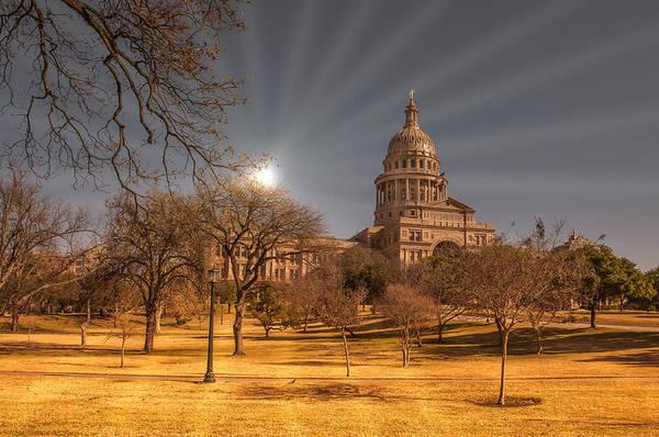 Photograph - Austin Capital by John Johnson
