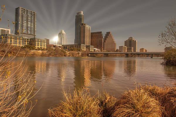 Photograph - Austin Downtown by John Johnson