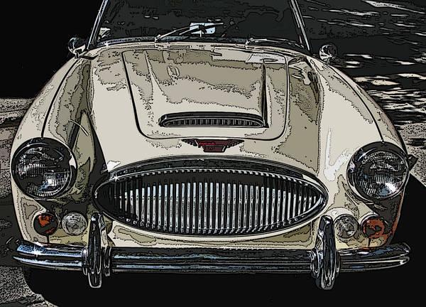 Photograph - Austin Healey 3000 Mk Ill by Samuel Sheats