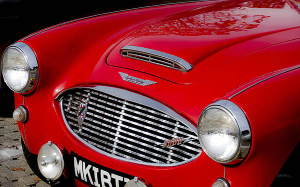 Photograph - Austin Healey In Red by Julie Palencia