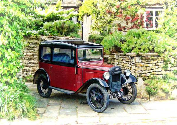Photograph - Austin Seven by Paul Gulliver