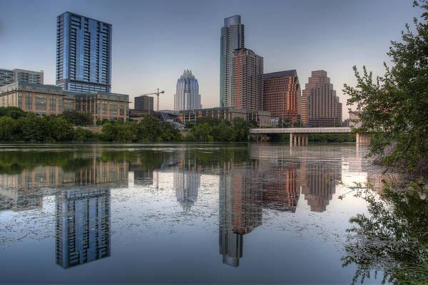 Capital Of Texas Wall Art - Photograph - Austin Skyline 1 by Paul Huchton
