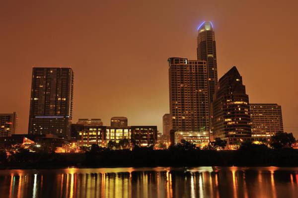 Downtown Austin Photograph - Austin Skyline At Twilight by Aimintang