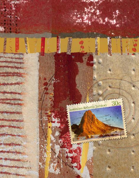 Territory Wall Art - Mixed Media - Australia Antarctic Territory by Carol Leigh