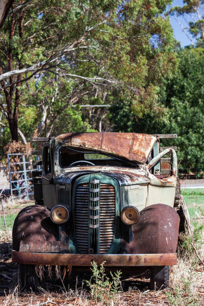 Clare Photograph - Australia, Clare Valley, Farrell Flat by Walter Bibikow