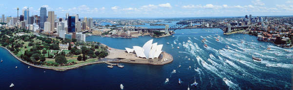 Rise Above Wall Art - Photograph - Australia, Sydney, Aerial by Panoramic Images