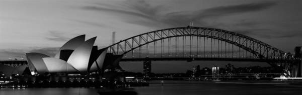 Span Wall Art - Photograph - Australia, Sydney, Sunset by Panoramic Images