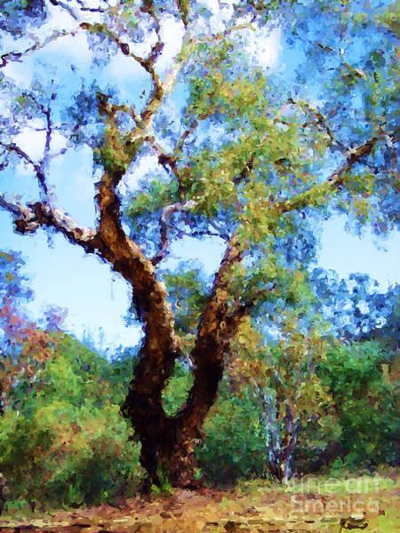Digital Art - Australian Native Tree 8 by Russell Kightley