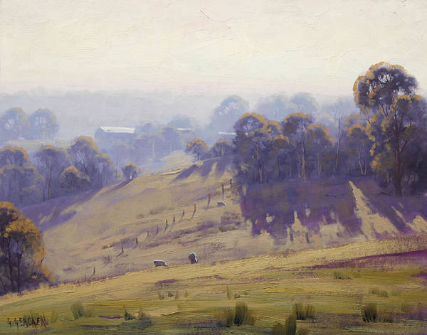 Victoria Wall Art - Painting - Australian Oil Painting by Graham Gercken