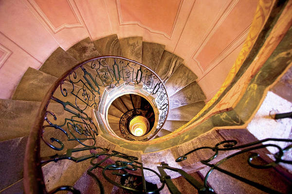 Abbey Photograph - Austria, Melk Monastery, Baroque Spiral by Miva Stock