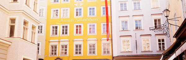 Mozart Photograph - Austria, Salzburg, Mozarts Birthplace by Panoramic Images