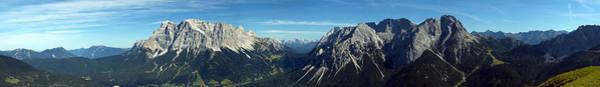 Photograph - Austrian Alps Pano II by Matt Swinden