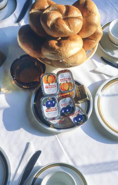 Photograph - Austrian Breakfast by KG Thienemann