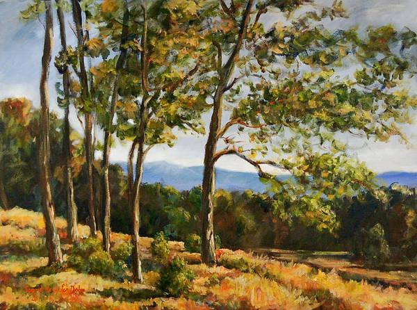 Painting - Austrian Landscape by Ingrid Dohm