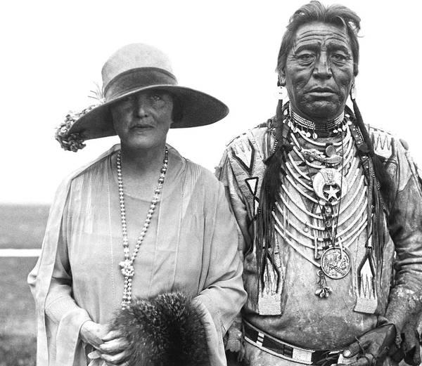 Photograph - Author Mary Roberts Rhinehart by Underwood Archives